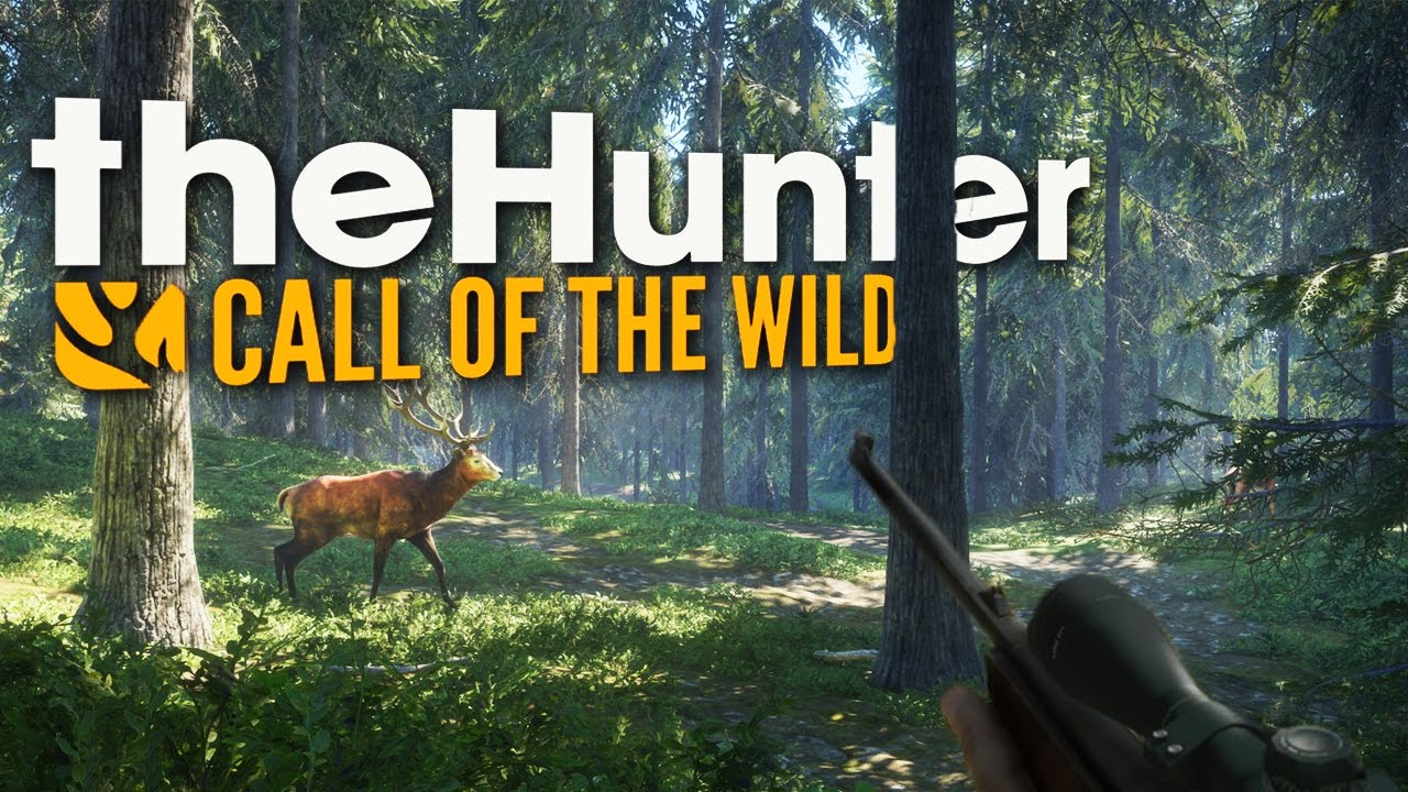 The hunter, Call of The Wild, trailer officiel de gameplay