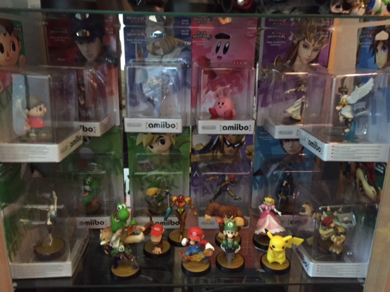 Ma collection : Amiibo