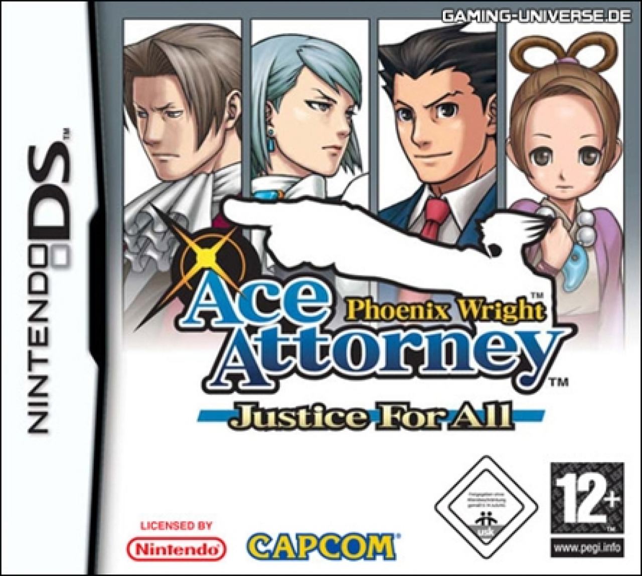 Test Ace Attorney : Phoenix Wright Justice For All