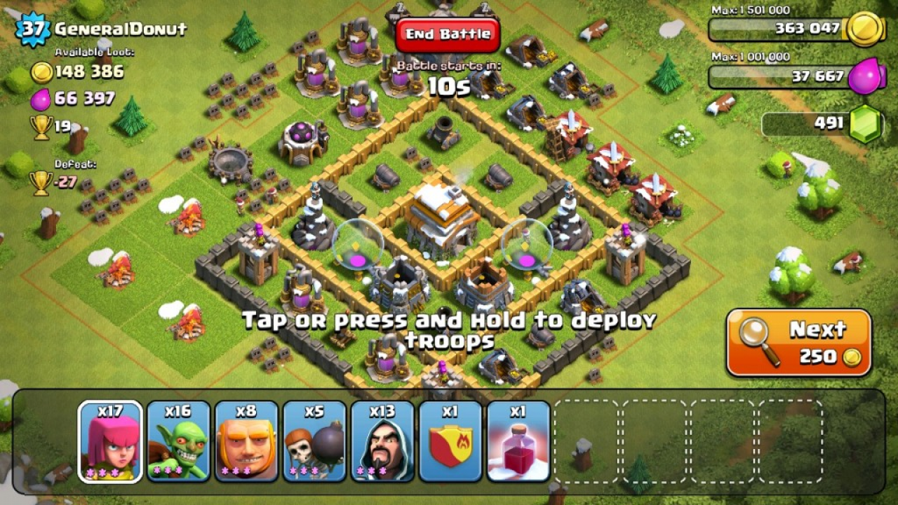 Dossier : Clash of Clans