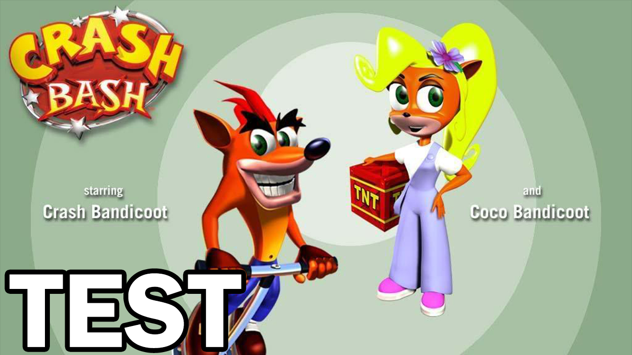 Test Crash Bash (PS1)