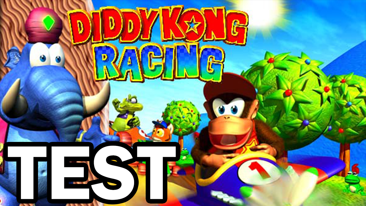 Test Diddy Kong Racing (N64)