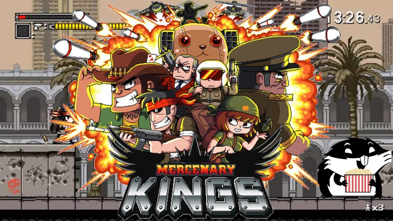 Mercenary Kings - [Ps4] - #0094 - Review [Fr]