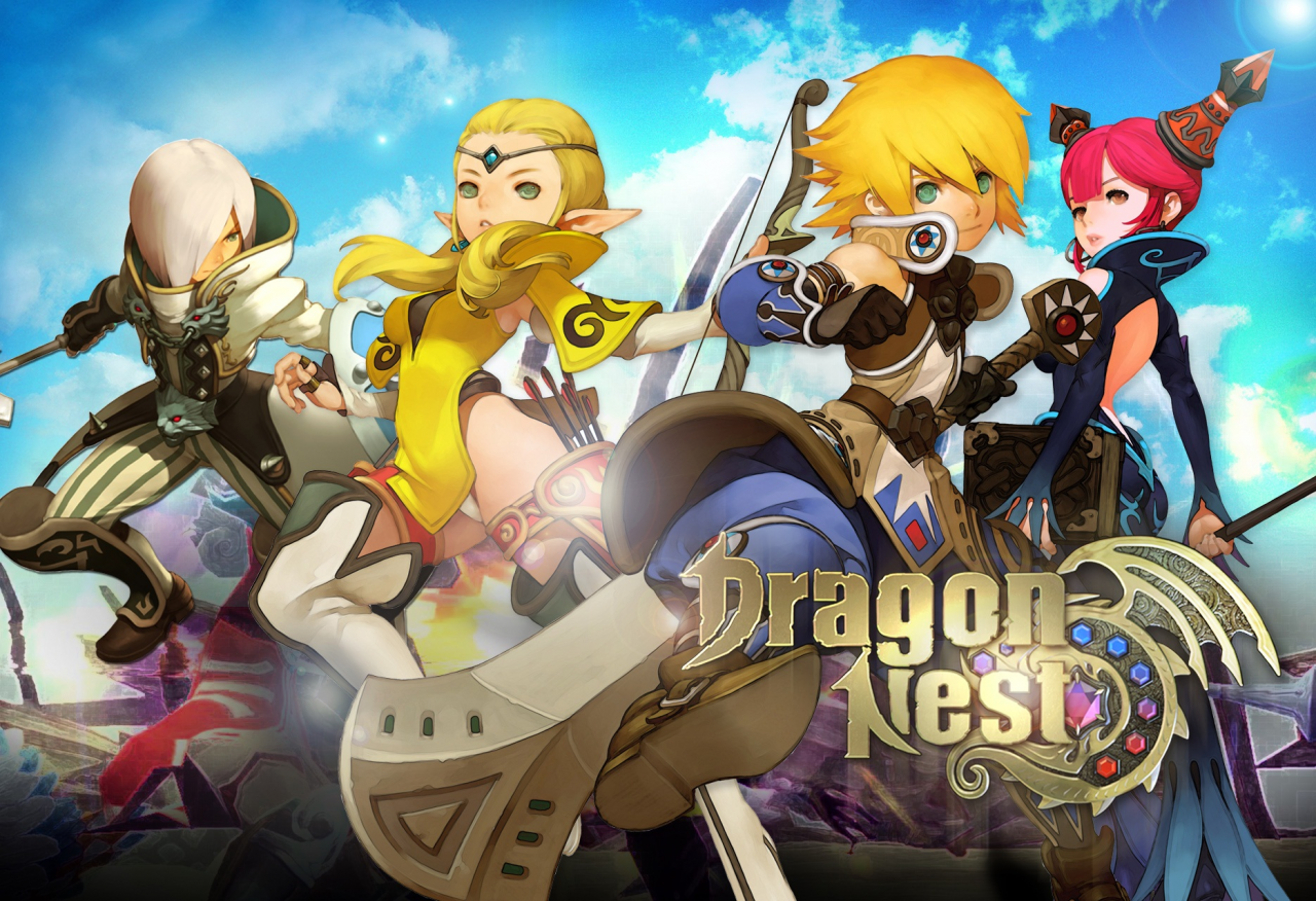 (Gameplay découverte) Dragon nest