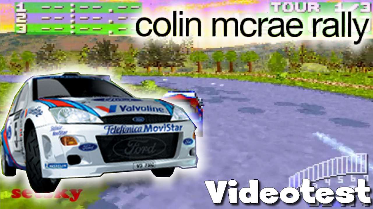 [RE-UPLOAD] Setsky - Vidéotest de Colin McRae Rally 2.0 (GBA)