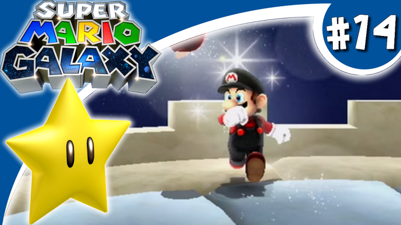 Super Mario Galaxy - Let's Play #14 - Domine les cieux, Flying Mario !