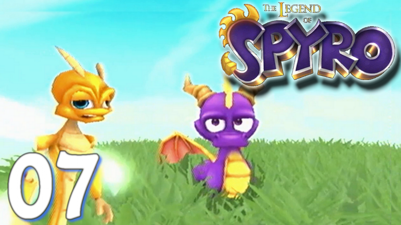The Legend of Spyro: A New Beginning - Let's Play #7 - La plaine, au dessus des nuages