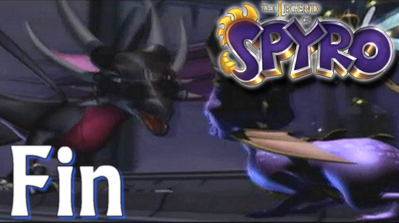 The Legend of Spyro: A New Beginning - Let's Play #16 [FIN] - Spyro VS Cynder