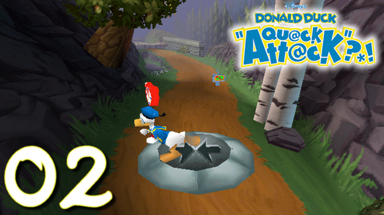 Donald Duck Quack Attack - Let's Play FR #2 - Top chrono !