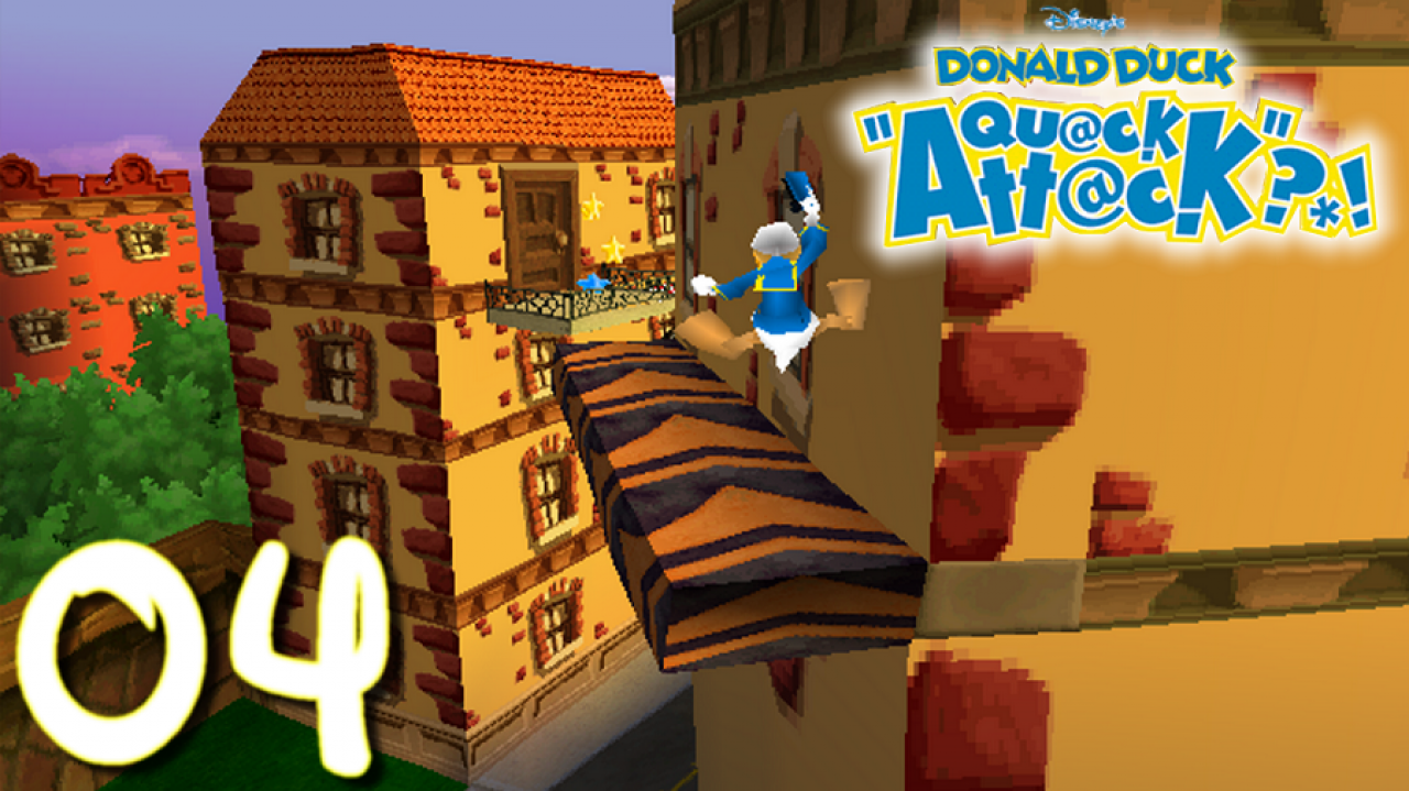 Donald Duck Quack Attack - Let's Play FR #4 - C'est le bordel à Donaldville !
