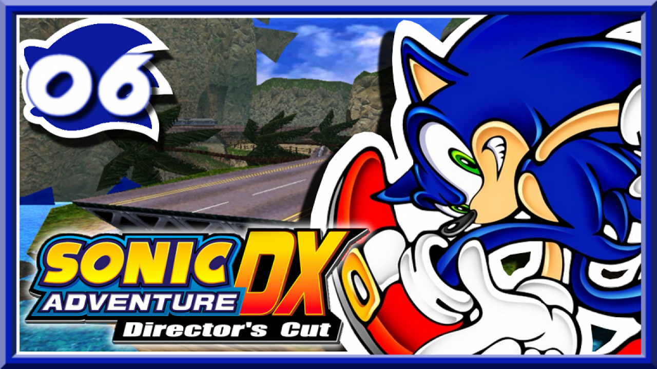 Sonic Adventure DX - Let's Play #6 - Sonic VS Knuckles