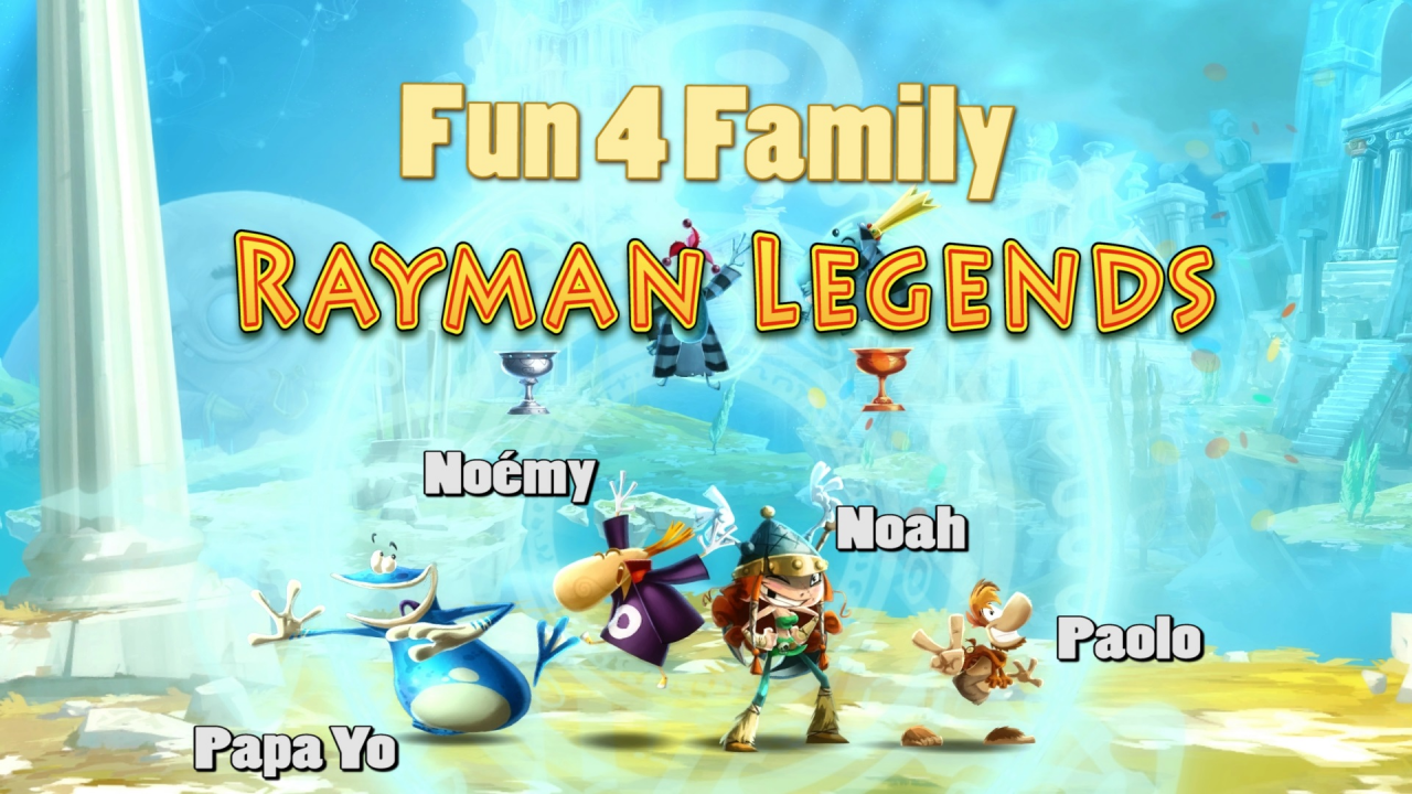 Rayman Legends [ Fun 4 Family ]
