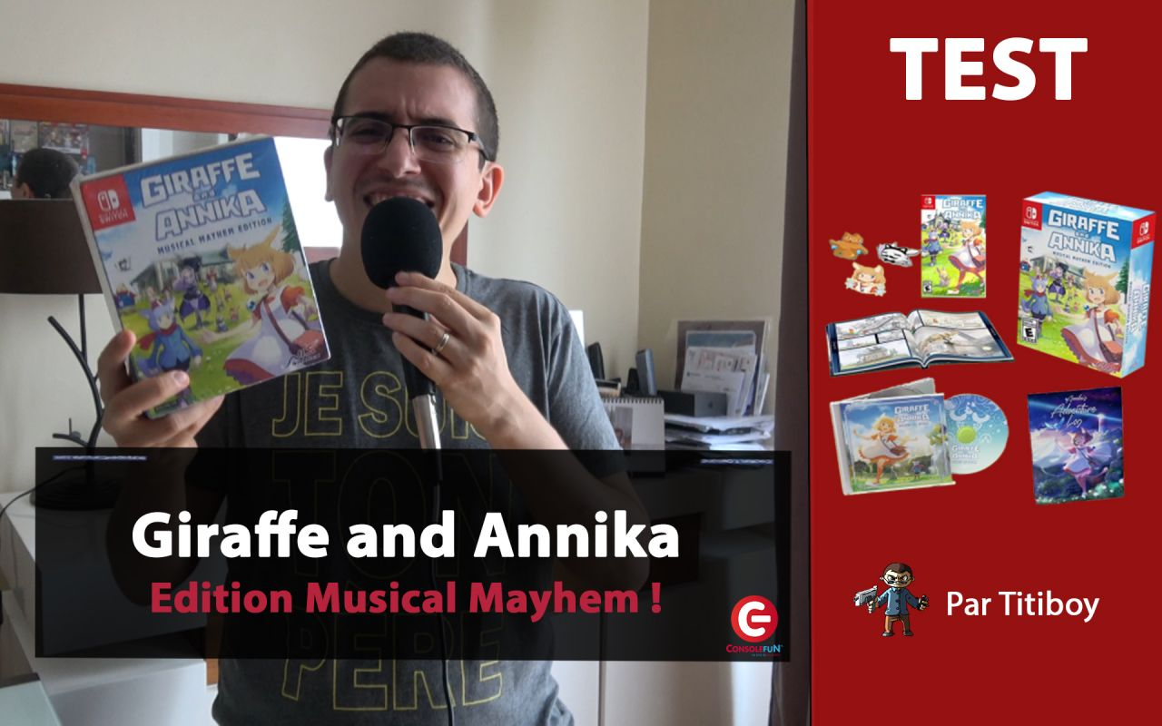 [UNBOXING] Giraffe and Annika - Edition Musical Mayhem sur Nintendo Switch