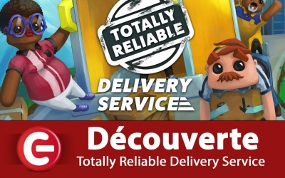 Test vidéo [DECOUVERTE / TEST] Totally Reliable Delivery Service sur Xbox One X