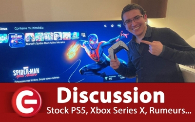 Test vidéo [INFO / RUMEURS] Stocks PS5, Stock Xbox Series X, BOT, MONITO... et discussion ! - 08/01/2021