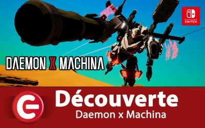 Test vidéo [DECOUVERTE] Daemon x Machina sur Nintendo Switch