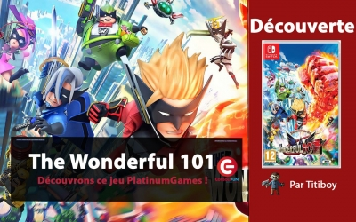 Test vidéo [DECOUVERTE] The Wonderful 101 Remastered sur Nintendo Switch !