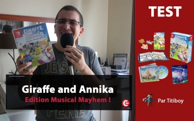 Test vidéo [UNBOXING] Giraffe and Annika - Edition Musical Mayhem sur Nintendo Switch