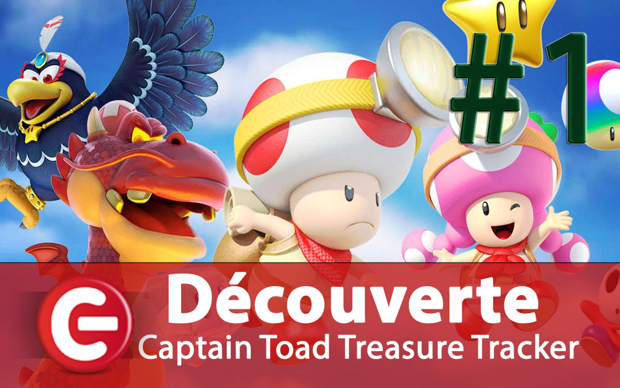 [Découverte FUN] Captain Toad Treasure Tracker sur Switch