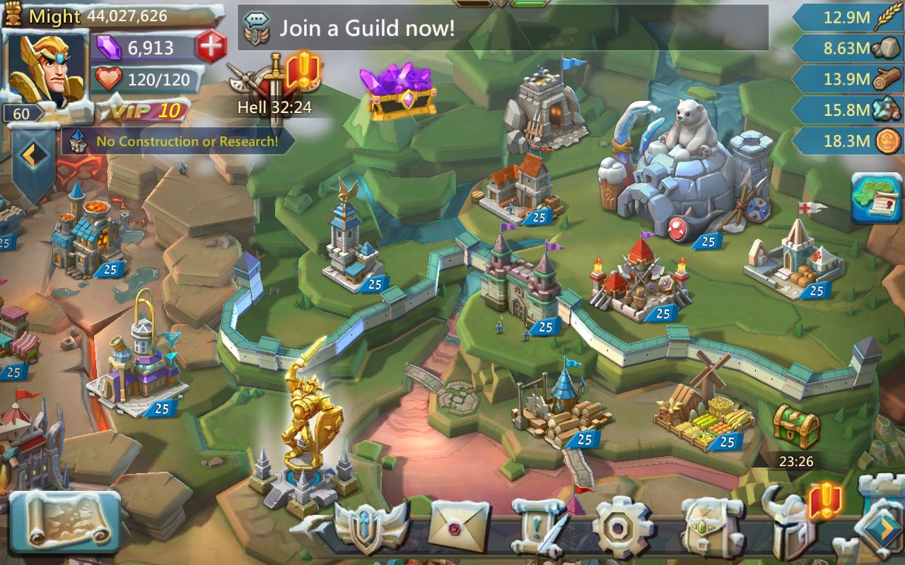 Lords Mobile : Guerre des Royaumes