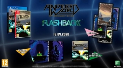 Another World/Flashback : Retrouvez la compilation dès le 16 avril 2020 !