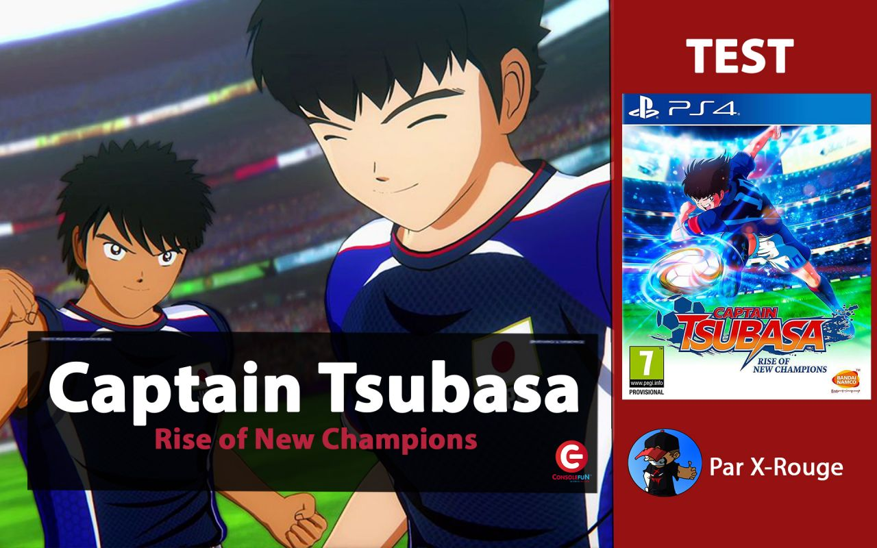 [Vidéo Test/Gameplay] Captain Tsubasa : Rise of New Champions