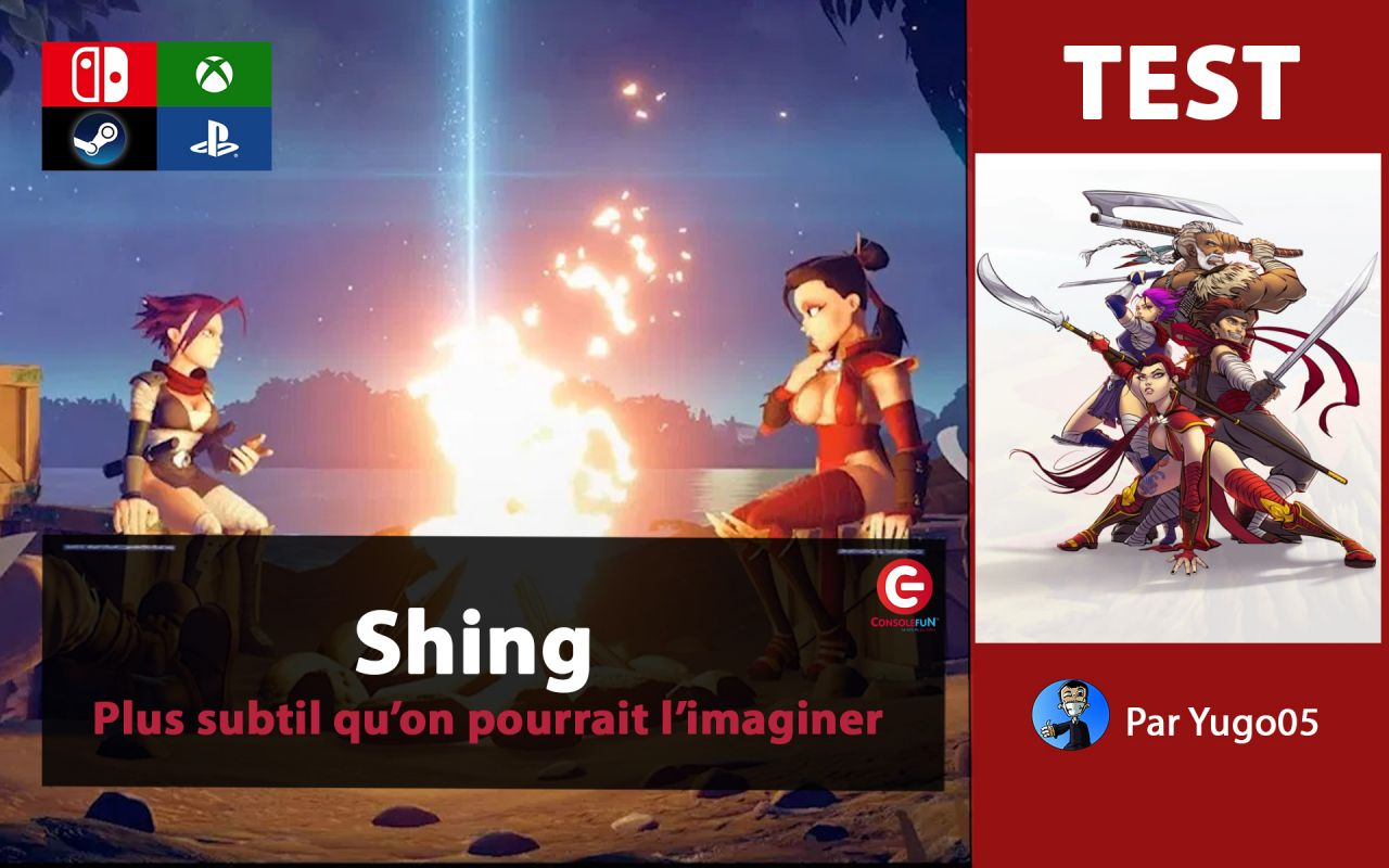 [VIDEO TEST] Shing! sur PS4, Xbox One, Switch et PC
