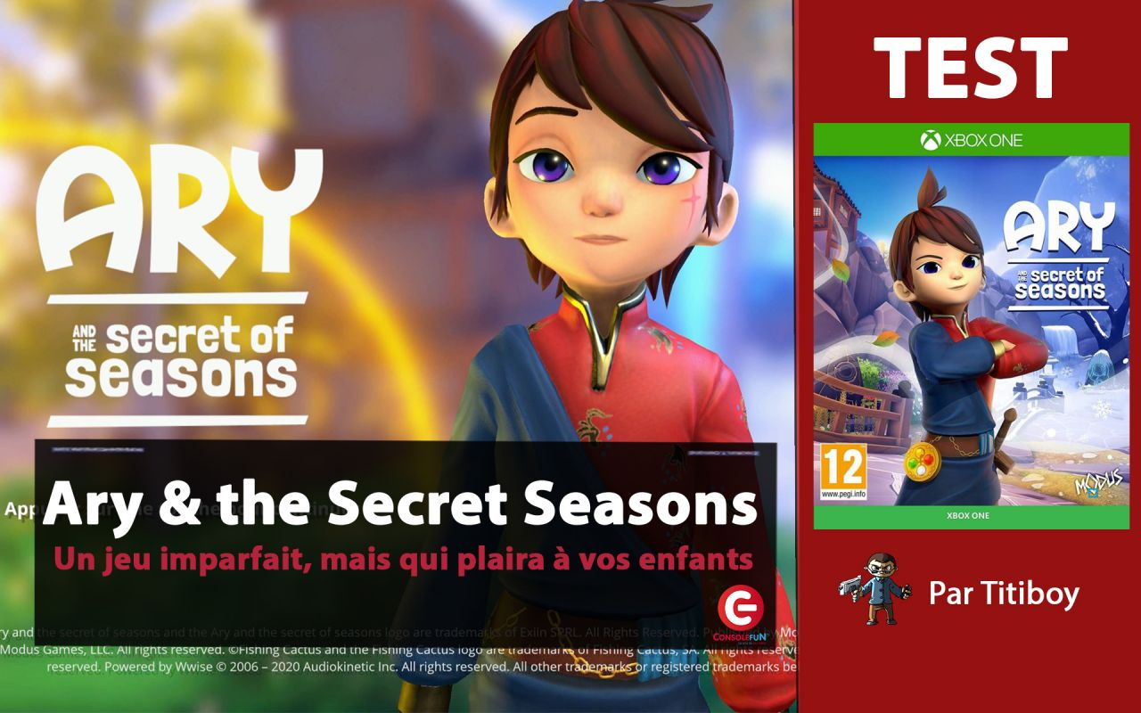 [VIDEO TEST] Ary and the Secret of Seasons, Imparfait mais plaira aux enfants