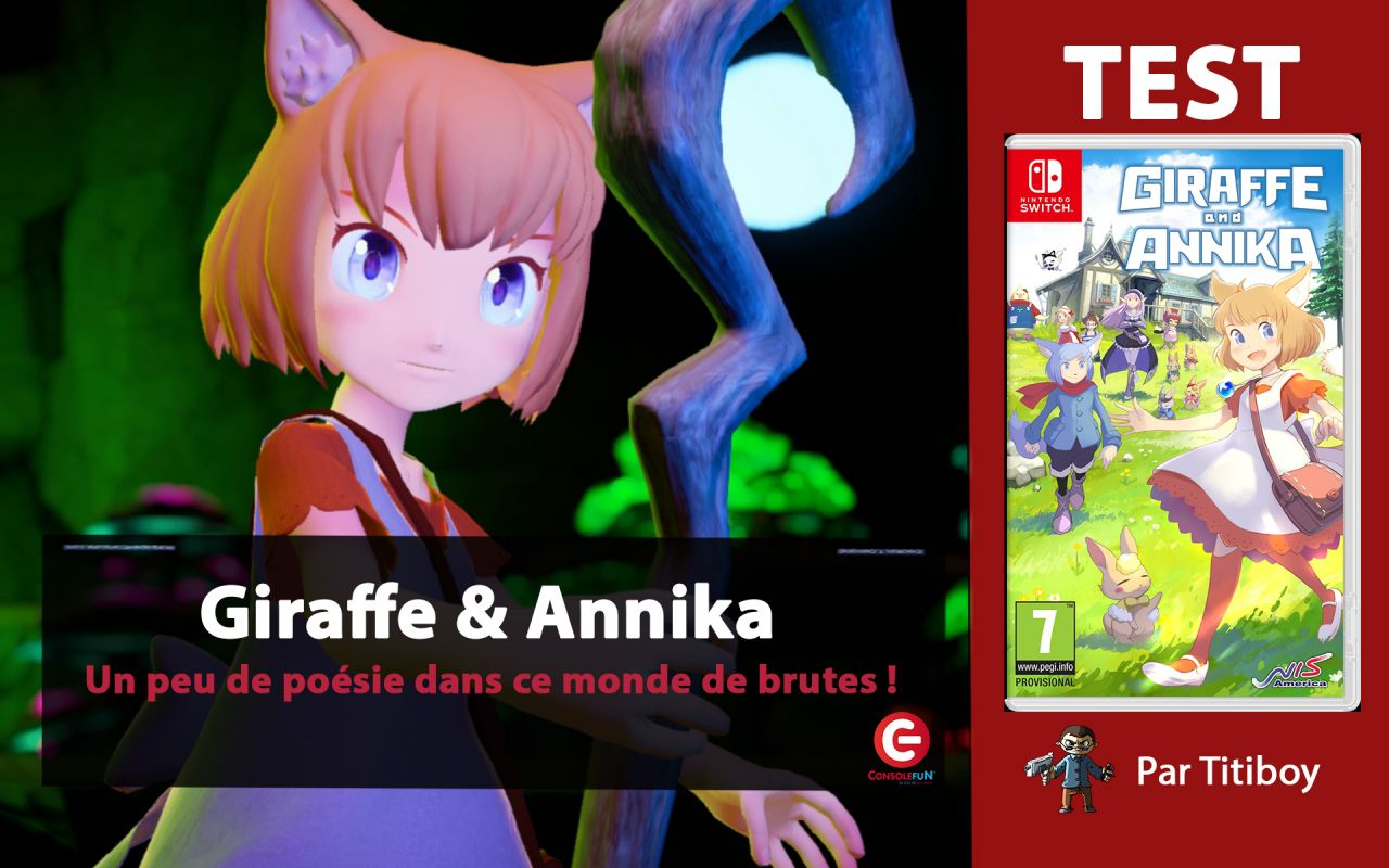 [VIDEO TEST] Giraffe and Annika sur Nintendo Switch !