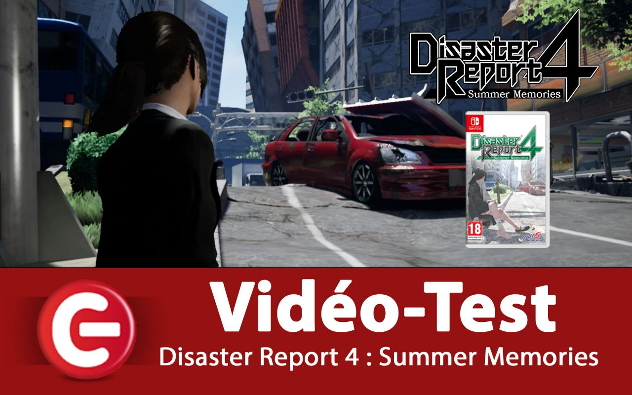 [VIDEO TEST] Disaster Report 4 : Summer Memories sur Switch !