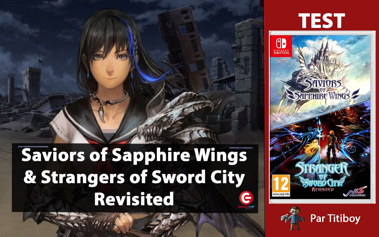 [TEST] Saviors of Sapphire Wings and Strangers of Sword City Revisited - Nintendo Switch !
