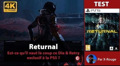 [VIDEO TEST 4K] Returnal sur PS5 - Alors ce rogue-like vaut-il le coup ?