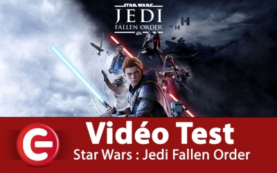 Test vidéo [VIDEO TEST] Star Wars Jedi : Fallen Order, un retour en force !?