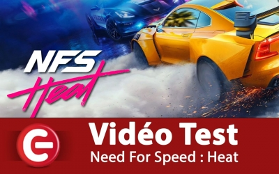 Test vidéo [VIDEO TEST] Need For Speed Heat sur PS4, Une licence en forme ?