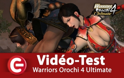 Test vidéo [VIDEO TEST] Warriors Orochi 4 Ultimate sur Nintendo Switch, merci Koei Tecmo pour ce très bon Musou !