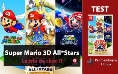 Test vidéo [VIDEO TEST] Super Mario 3D - ALL STARS sur Nintendo Switch