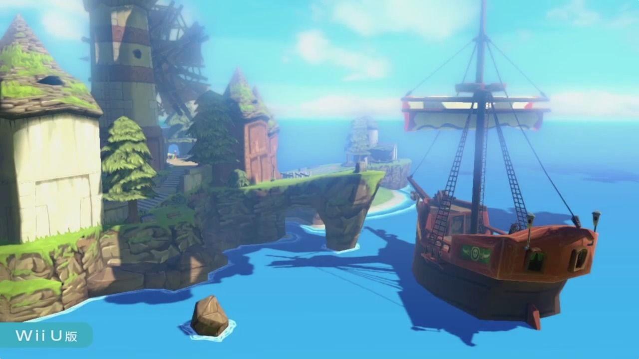 The Legend Of Zelda The Wind Waker Hd Infos Et Jaquettes Jeux Video Wiiu